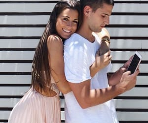 couple, cute, and Relationship image