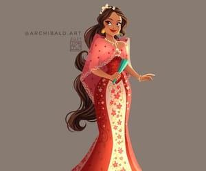 art, princess, and walt disney image