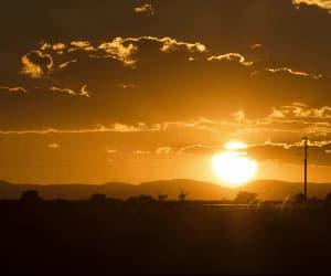 gif, sky, and sunset image