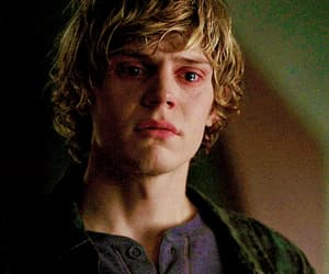 gif, Hot, and tate langdon image