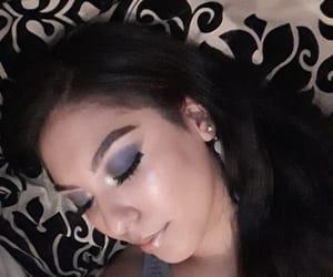 makeup, cejas, and maquillaje image