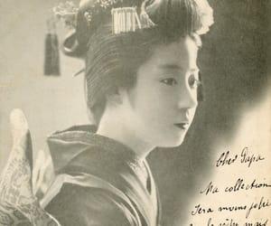 1900s, postales, and geiko image