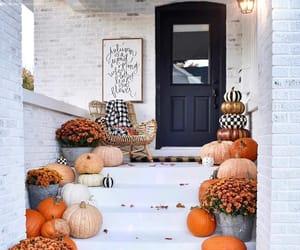 autumn, cozy, and pumpkin image