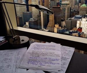 city, school, and study image