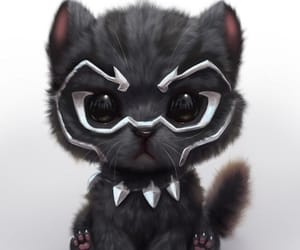 black panther and cute image