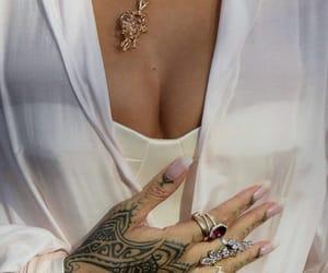 rihanna, tattoo, and jewelry image