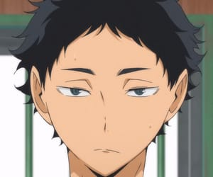 haikyuu, anime, and akaashi image