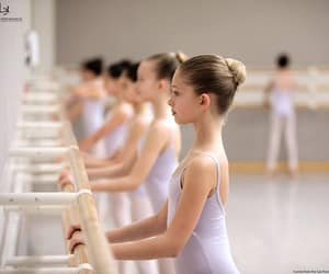 ballerina, pointe, and woman image