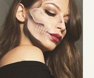 girl, glam, and Halloween image