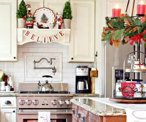 christmas, home, and kitchen image