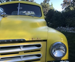 truck and yellow image
