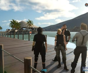 video game and final fantasy xv image