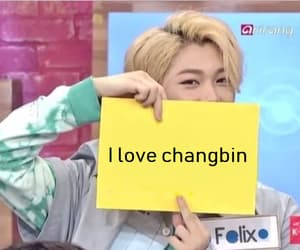 felix, stray kids, and changbin image