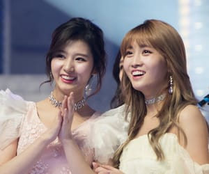 twice, momo, and sana image