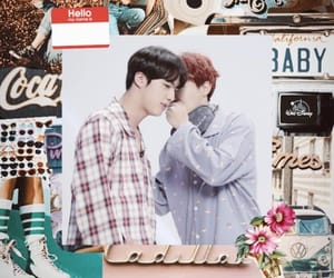 Collage, kpop, and seokjin image