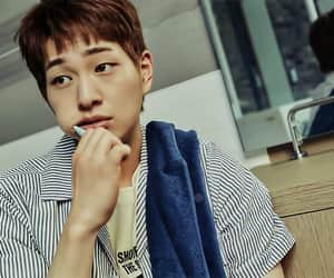 model, Onew, and SHINee image