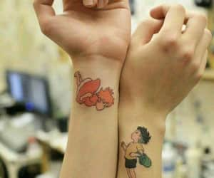anime and tatto image