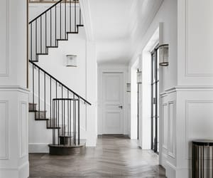 home, stairs, and hall image