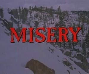 misery, movie, and film image