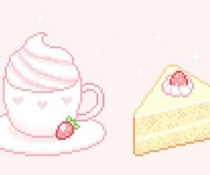 food, sweets, and kawaii image