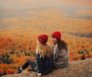 autumn, girl, and goals image