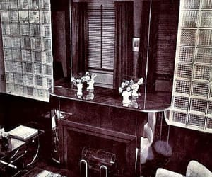 glass blocks and 1930s interior image