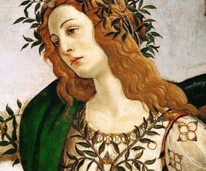 botticelli, minerva, and 1400s image