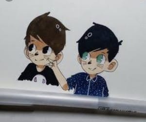 dan, phil, and drawing image