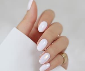 nails, nail art, and white image