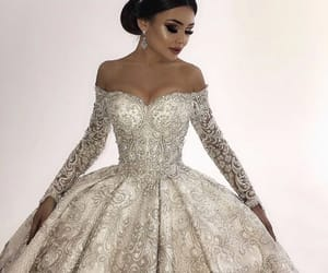 bride, Couture, and Dream image
