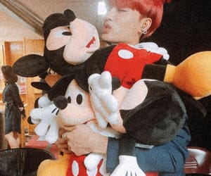mickeymouse, nct, and taeil image