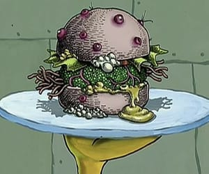 nasty, spongebob, and hell no image