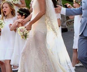 dress, wedding dress, and kate moss image