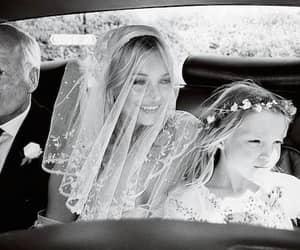 kate moss, wedding, and wedding dress image