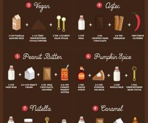 hot chocolate, chocolate, and winter image
