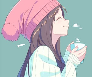 anime and winter image