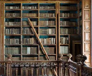 architecture, books, and interior image