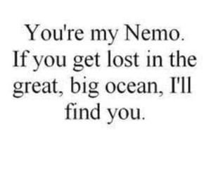 nemo, ocean, and quotes image