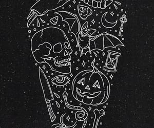 Halloween and skull image