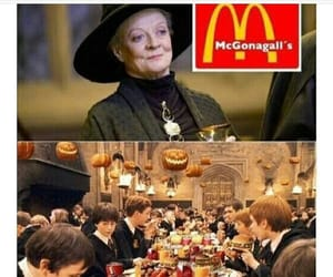 fast food, gryffindor, and professor image
