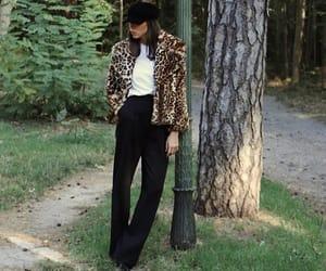 fashion, animalprint, and leopardprint image