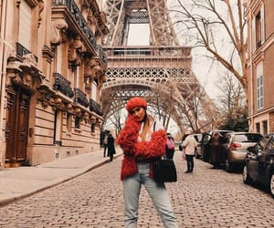 eiffel tower, fashion, and paris image