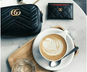 aesthetic, chanel, and coffee image