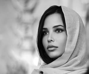 beauty, black, and white image
