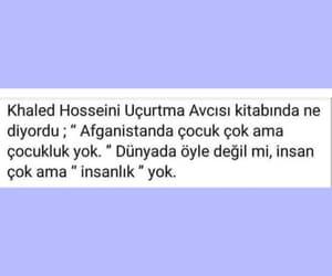 khaled hosseini, alıntı, and türkçe sözler image