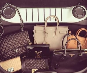 bag, luxury, and chanel image