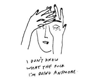 art, quotes, and sad image