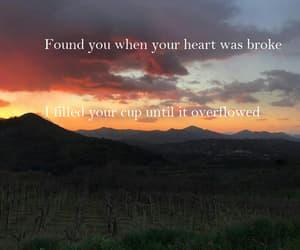 girl, love, and Lyrics image