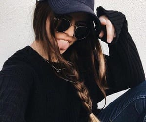 accessories, braid, and cool image