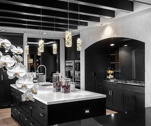 kitchen, luxury, and interior image
